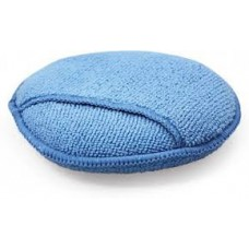 Aplikator z mikrofibry niebieski z kieszonką